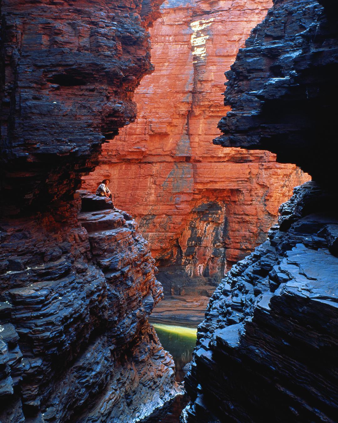 an epic gorge at Karajini National Park