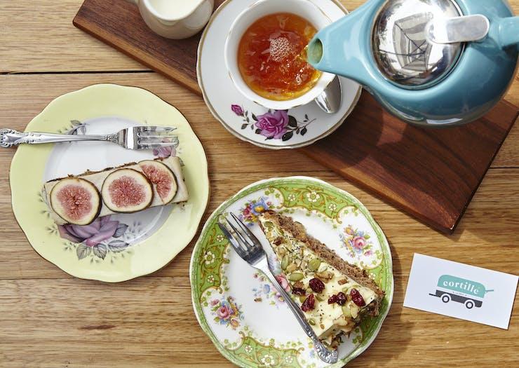 tea and cake in Bendigo