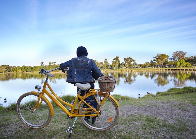 cycling in Bendigo