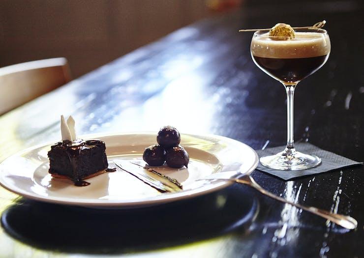 espresso martini in Bendigo