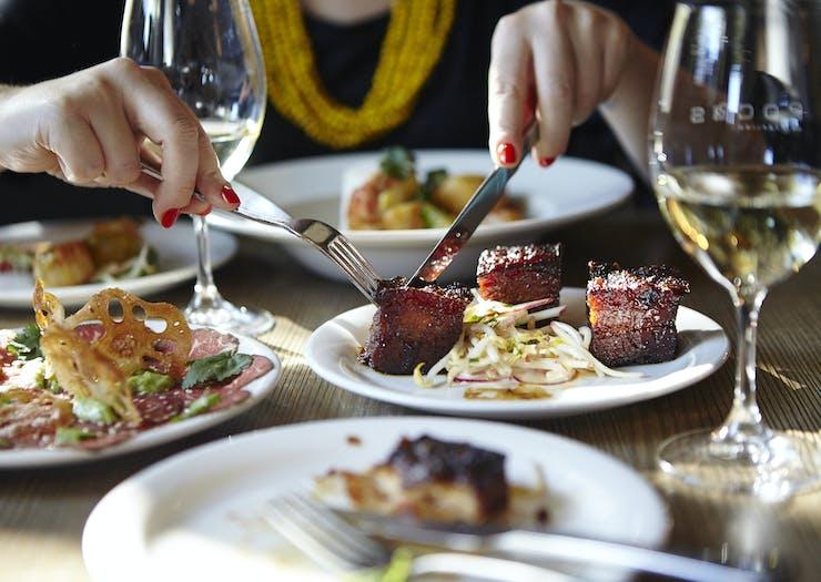 fine dining in Bendigo