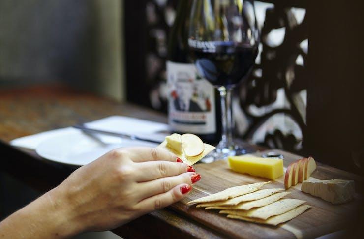 cheese and wine in Bendigo