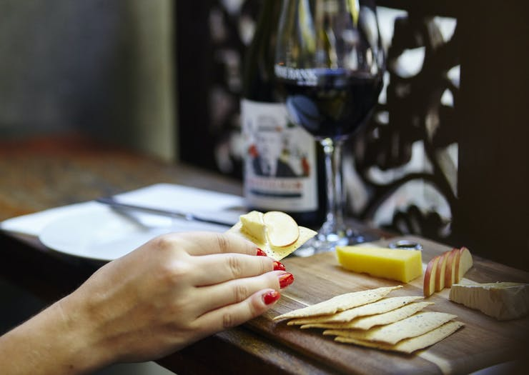 cheese and wine in Bendigo