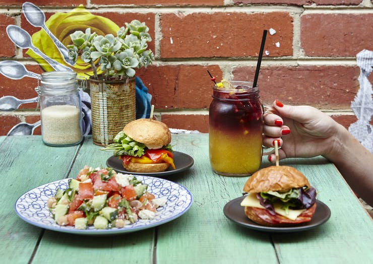 sangria and sandwiches in Bendigo