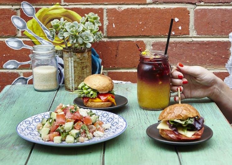 sangria and sandwiches in Bendigo