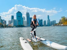 Hop On One Of These New Water Bikes And Cruise The Brisbane River In Style