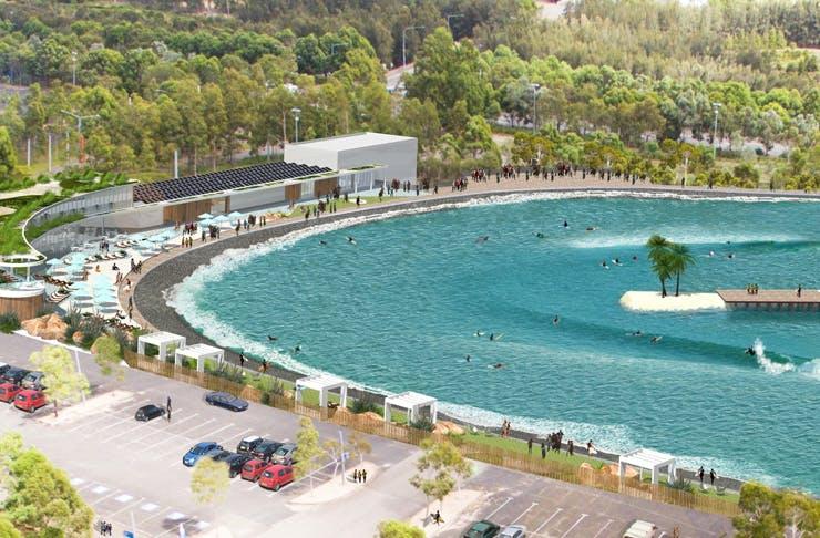 wave park sydney