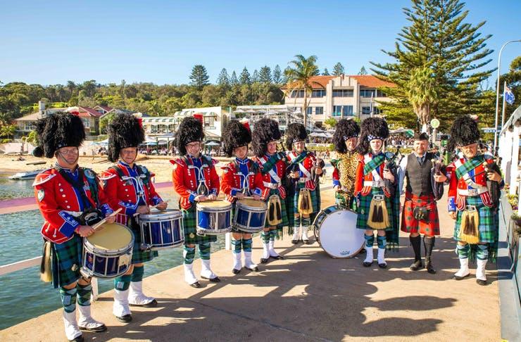 beach party ANZAC Day Sydney