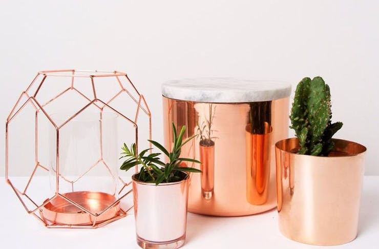 buy copper homewares