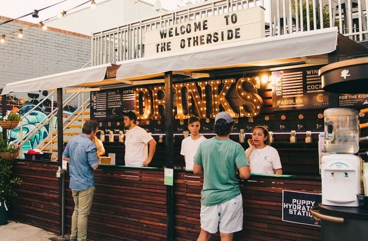 The bar at Welcome To The Otherside in Subiaco