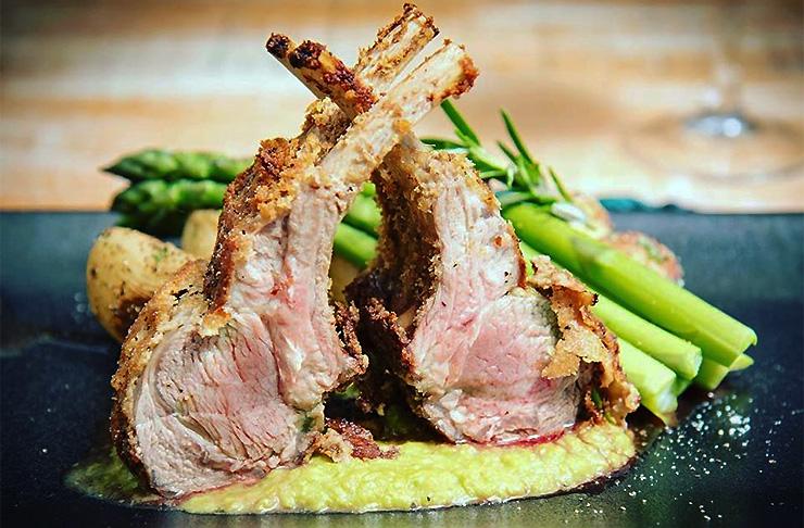 Lamb ribs at The Wharf