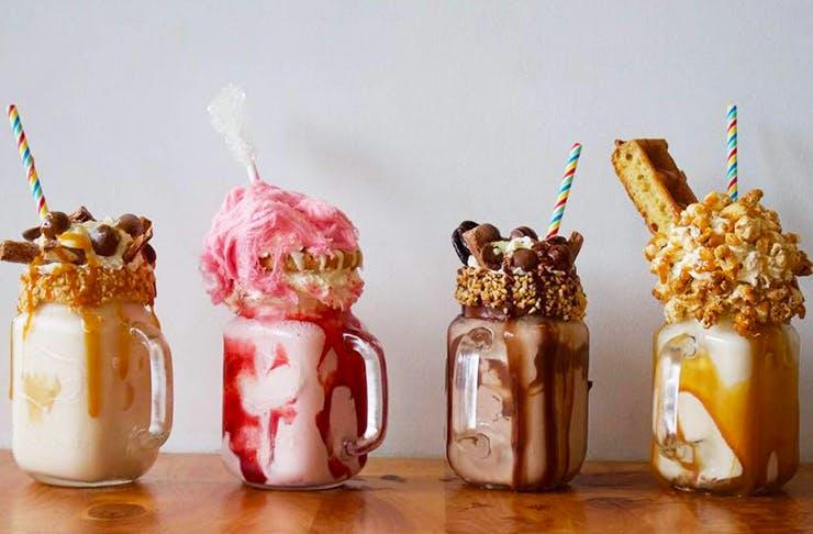 freakshakes auckland, best milkshakes auckland, megshakes auckland
