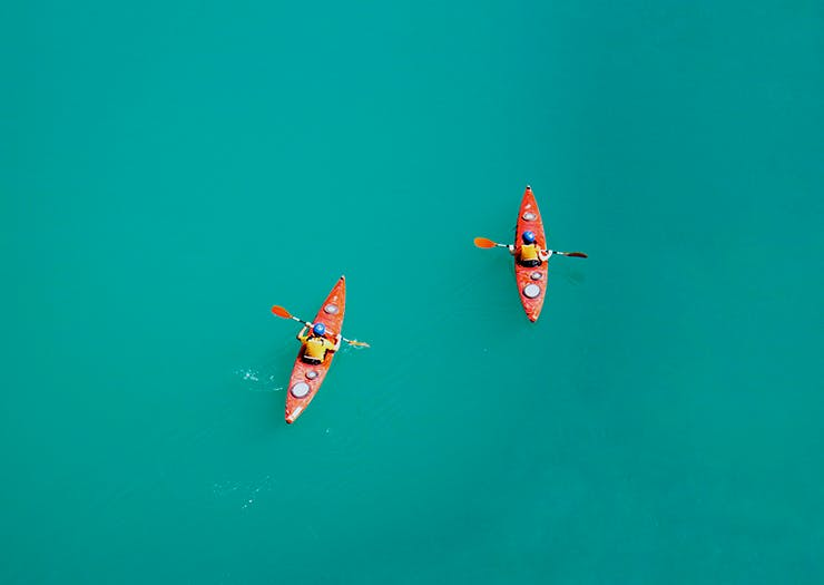 The Absolute Best Places To Go Kayaking Around The Sunshine Coast