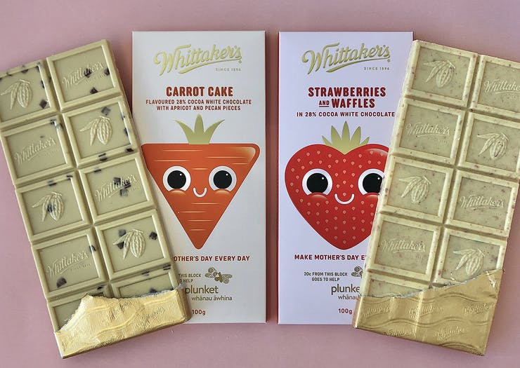 Whittaker's Has Unleashed Two Incredible New Choccy Blocks For Mother's Day