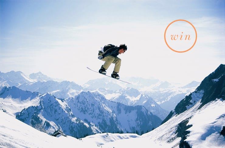 Win A $1200 Snowboarding Pack!