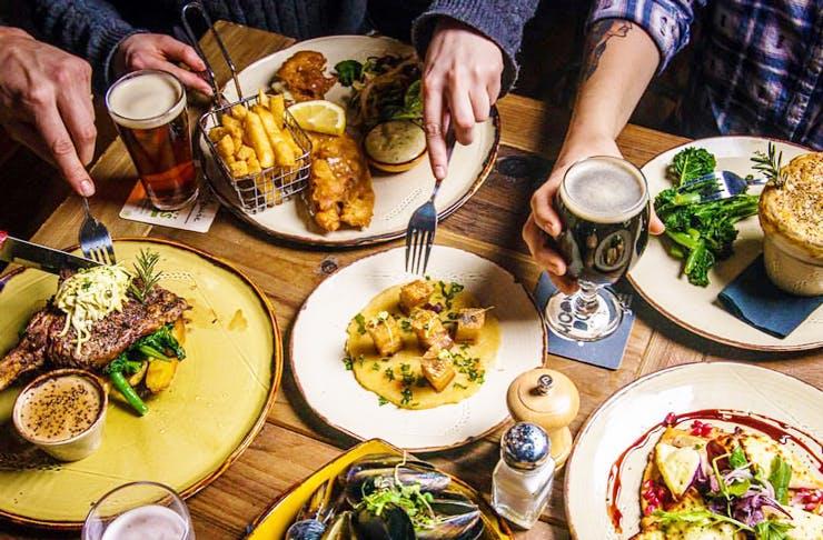 best pub menus