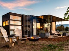 Wake Up At A Winery In These Luxury Pop-Up Container Hotels
