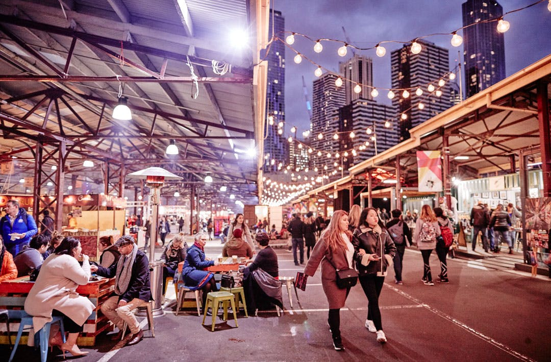 The Queen Vic Winter Night Market Is Coming Back To Melbourne Next Month