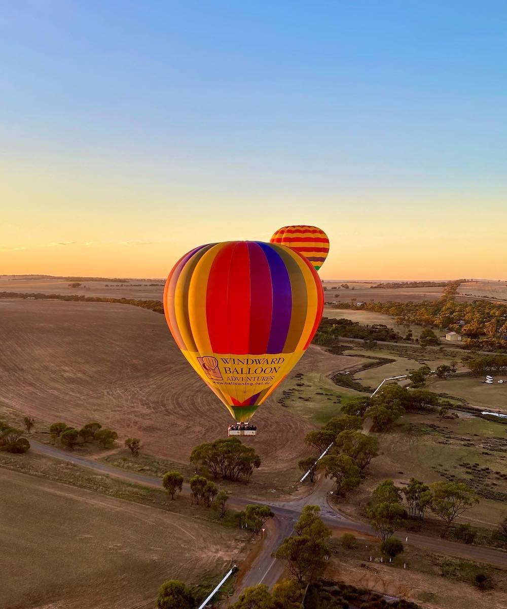 Hot Air Balloon in Northam