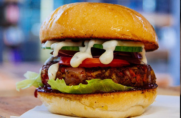 A Dedicated Veggie Burger Joint Opens This Week