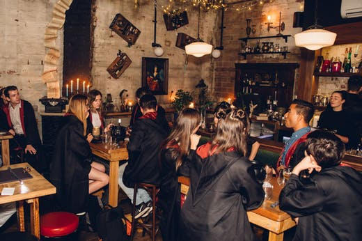 Brew Your Own (Adult's Only) Potion At Melbourne's Pop-Up Wizardry-Themed Bar