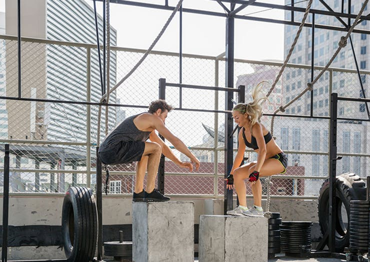 24 Reasons To Workout With Your Partner