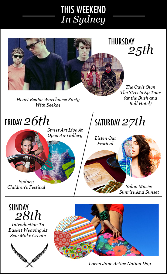 Things to do in Sydney this weekend