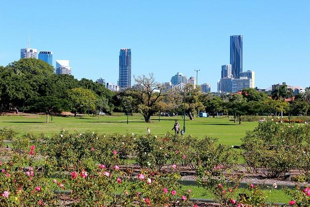 New Farm Park Brisbane