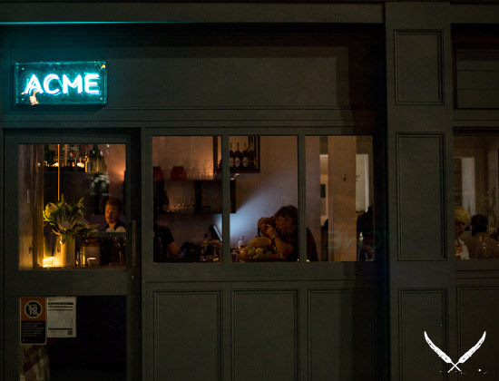 ACME restaurant in Sydney