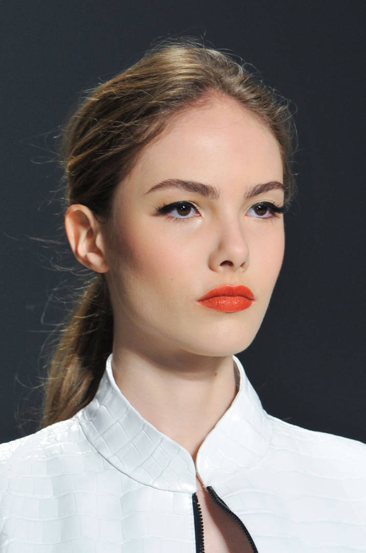 bridal beauty trends statement lip