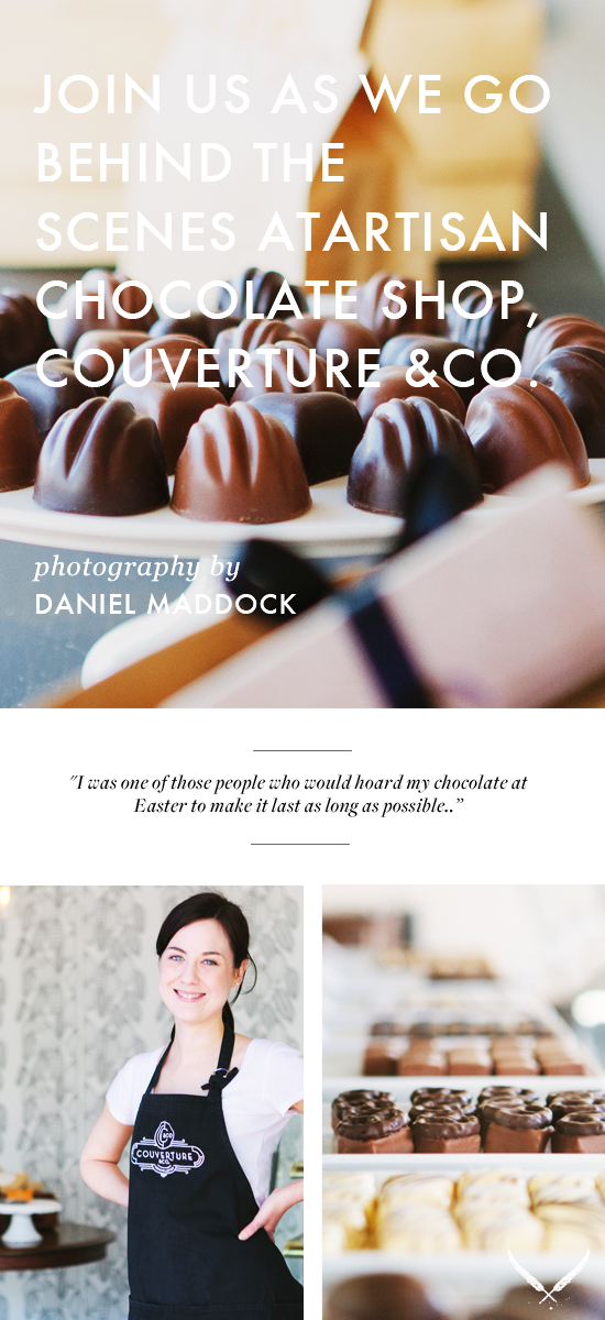 Couverture & co Chocolate Shop Brisbane