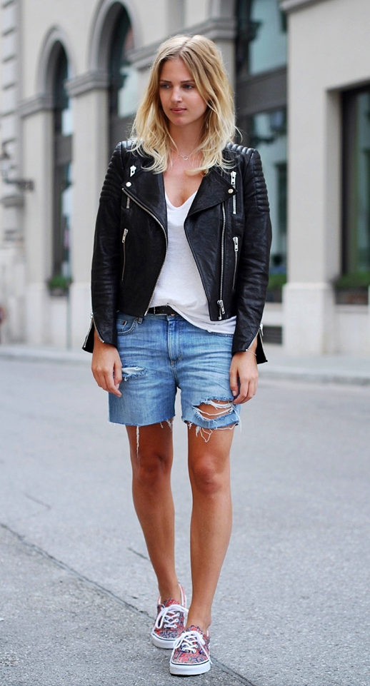 New Ways to Style Leather jacket