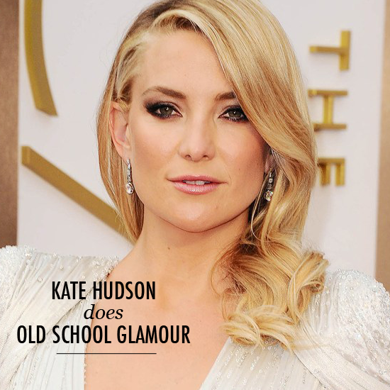 Oscars beauty 2014 kate hudson