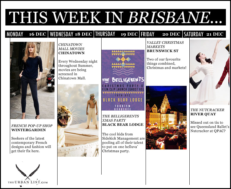 This Week In brisbane