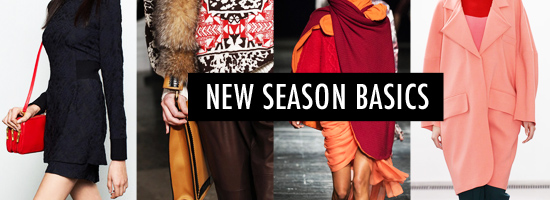 New Season Basics Autumn Winter Ready to Wear 2014