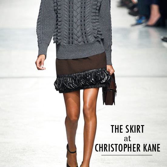 Trends Autumn Winter Ready to Wear 2014 Christopher Kane