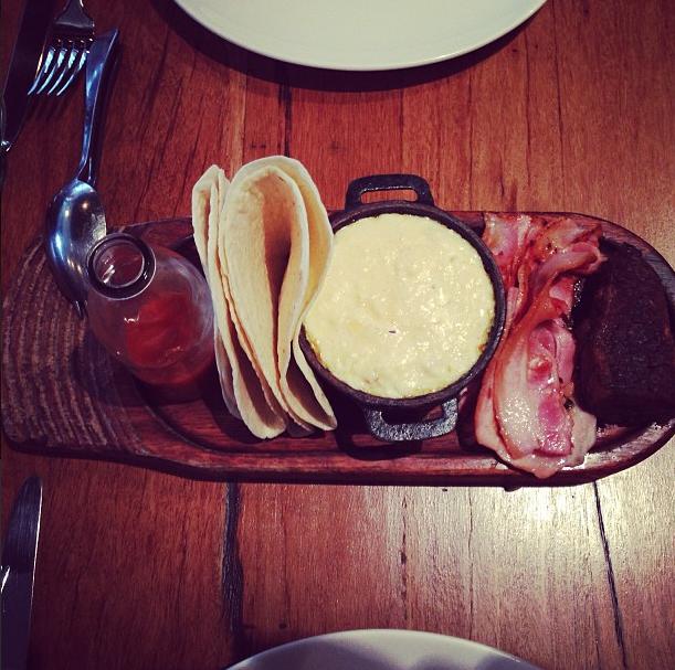 Breakfast brisket at Brisbane's public, best breakfast brisbane city