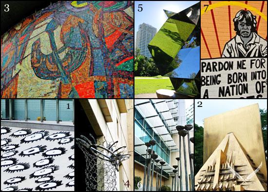 Brisbane CBD public art