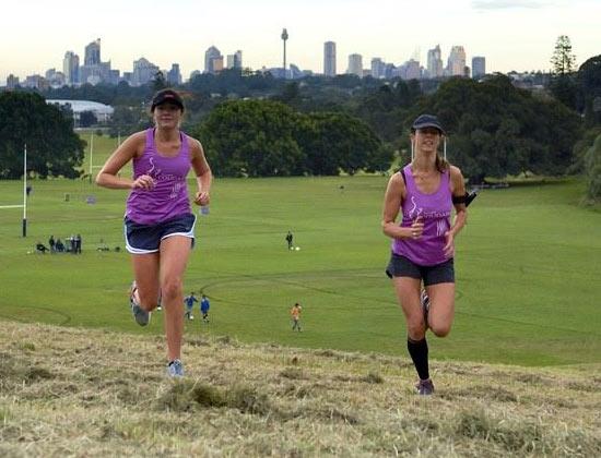 Centennial Parklands run