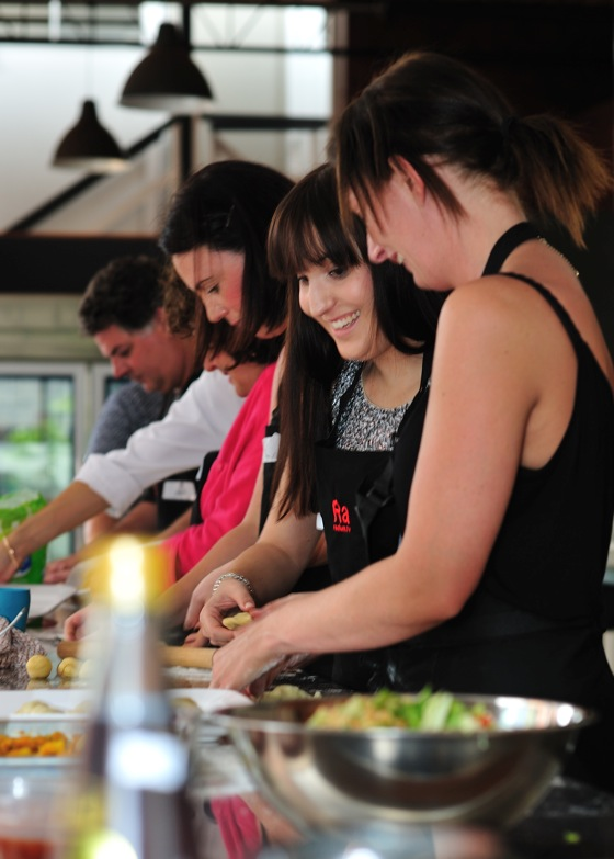 the golden pig cooking school newstead