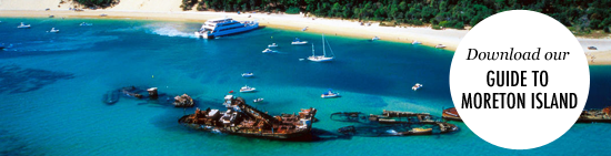 Download Our Guide To Moreton Island