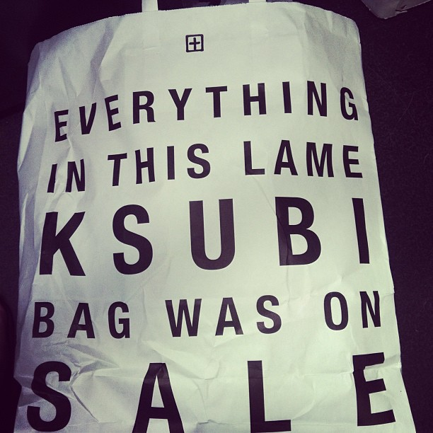 Ksubi instagram