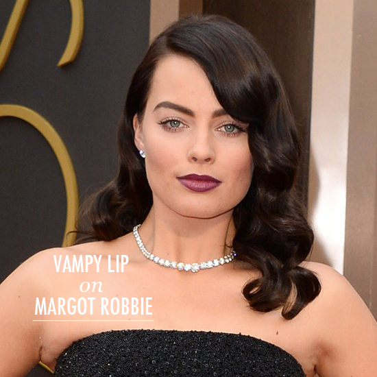 Oscars Beauty 2014 Margot Robbie