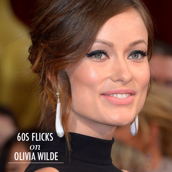 Oscars Beauty Olivia wilde