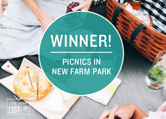 Great Urban List Off Winner | Picnics in New Farm Park