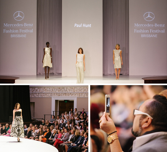 behind the scenes at mercedes benz fashion festival with paul hunt