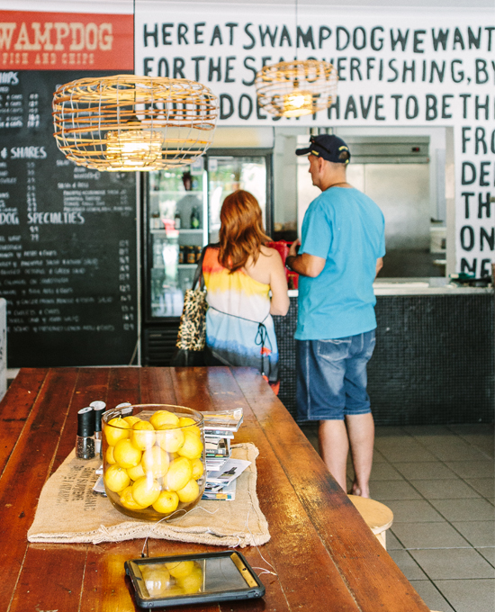 swampdog fish and chips vulture street woolloongabba