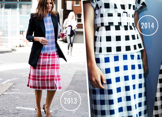 Fashion Trends 2014 Gingham