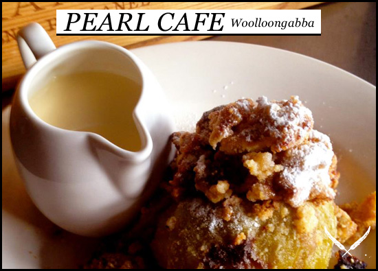 Pearl Cafe dessert menu