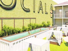 Grab Your Swimsuit, A Shipping Container Swimming Pool Is Hitting This Valley Bar